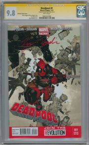 Deadpool #1 Bachalo Variant  CGC 9.8 Signature Series Signed Brian Posehn Movie Marvel Comic Book